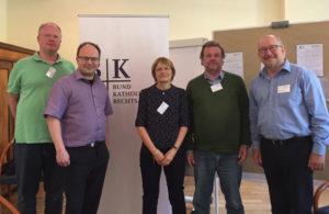 Teilnehmer des BKR-Workshops mit Rechtsanwalt Richter (2. v. l.)